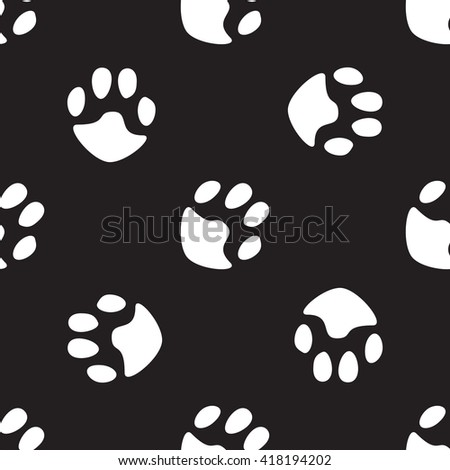 black and white pattern with