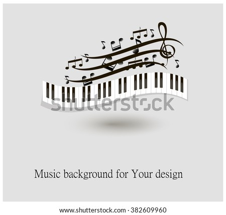 black and white piano keys and