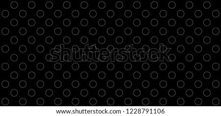 Black and white polka dot pattern. polka dot wave vector