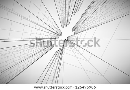 Black and white poster in the style of elementary geometry #126495986