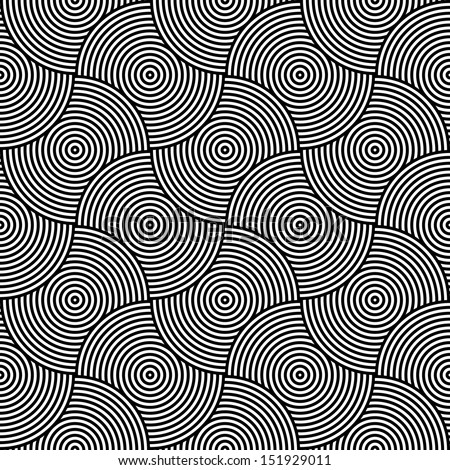 black and white psychedelic