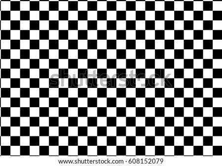 black and white racing and checkered pattern background Stock photo ©