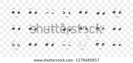 black and white real eyes of