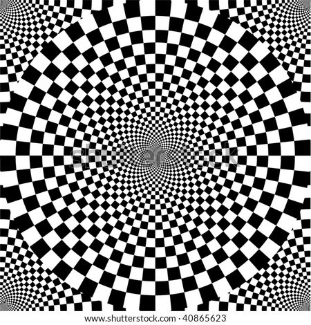 Black and white. Seamless pattern.
