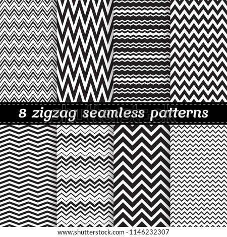 stock-vector-black-and-white-set-of-seamless-vector-patterns-with-zigzag