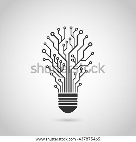 black and white silhouette icon