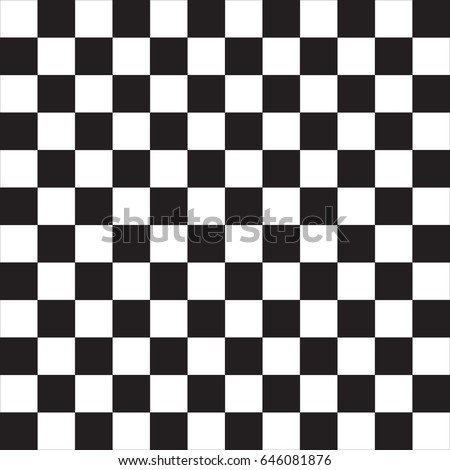 Black and white squared pattern seamless background. Vector. Stock photo ©