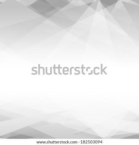 black and white triangular
