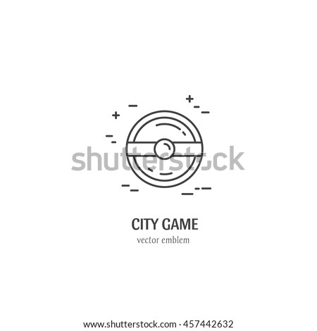black and white vector city