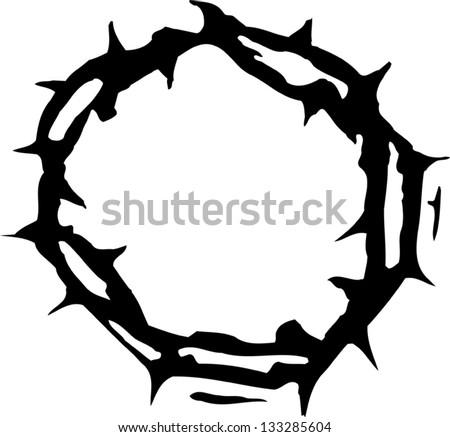 free vector crown of thorns download free vector art stock rh vecteezy com