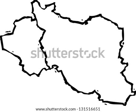 Free Vector Map of Iraq Free Vector Art at Vecteezy