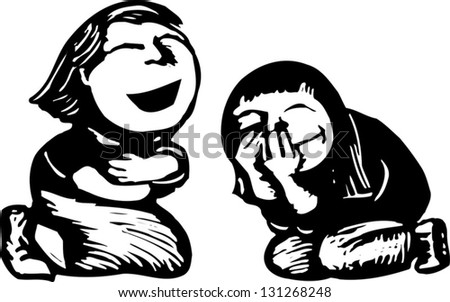 laugh clipart black and white - photo #37
