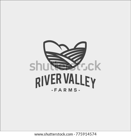 black and white vector logo of