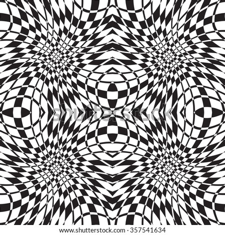 black and white vector seamless