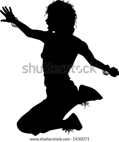 human silhouette clipart. human silhouette clipart. Men in vector human silhouette