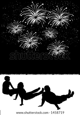 2013 clipart fireworks moving.