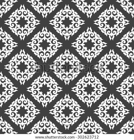 black and white wallpaper in