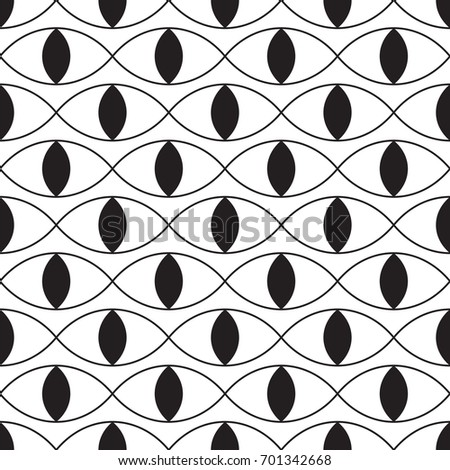 black and white wavy design