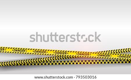 black and yellow stripes set....