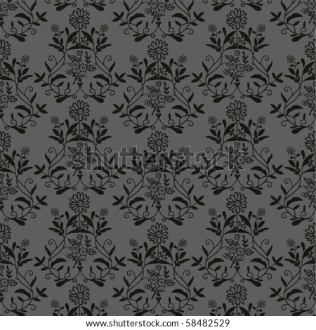 black antique seamless