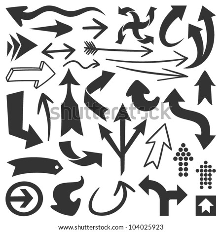 Black arrows-Set 1