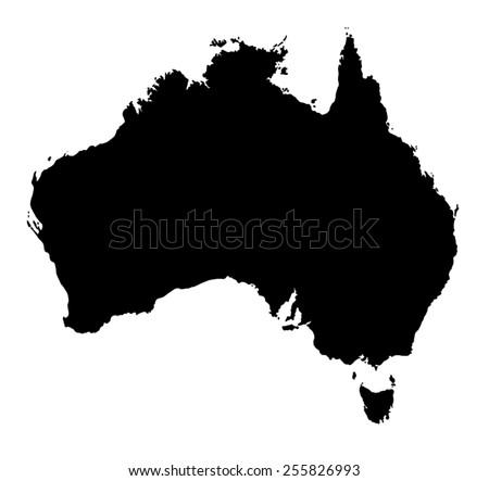 Australia Map Vector Download Free Vector Art Stock Graphics - Australia map