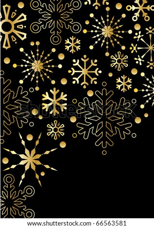gold stars background. ackground with gold stars