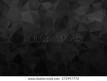 black background with triangle...