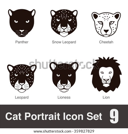 black big cat breed face