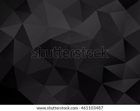 black carbon abstract mosaic