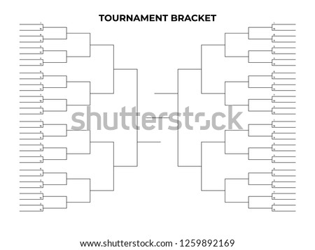 Soccer Tournament Bracket - Download Free Vector Art, Stock Graphics