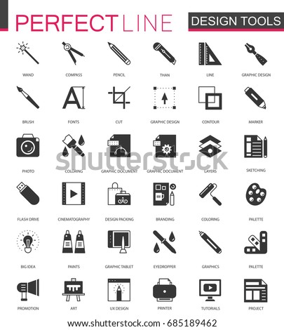 black classic graphic design