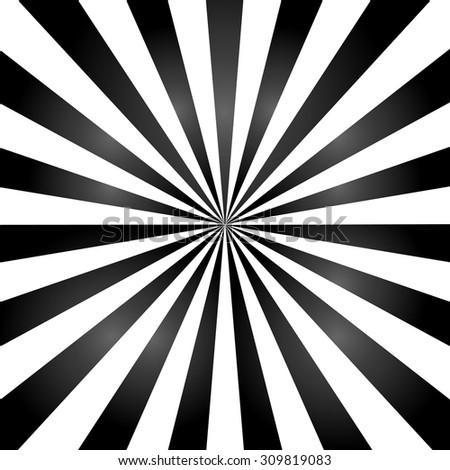 black color burst background or