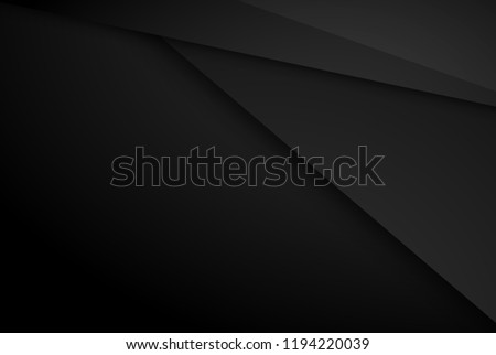 Black contrast tech arrows background. Vector illustration corporate design