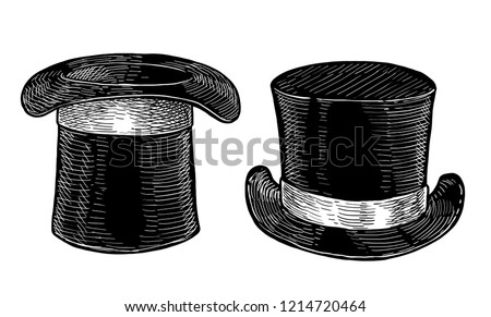 Black cylinder illustration, drawing, engraving, ink, line art, vector