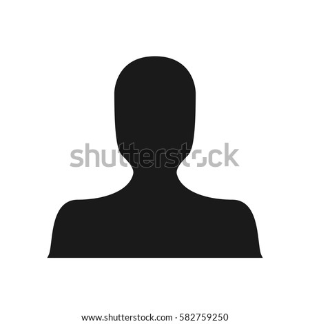 black dark avatar silhouette