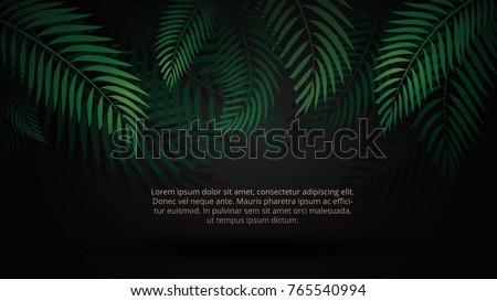 black decorative background