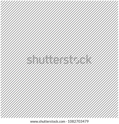 black 45 degrees oblique line pattern abstract background in vector Foto stock ©