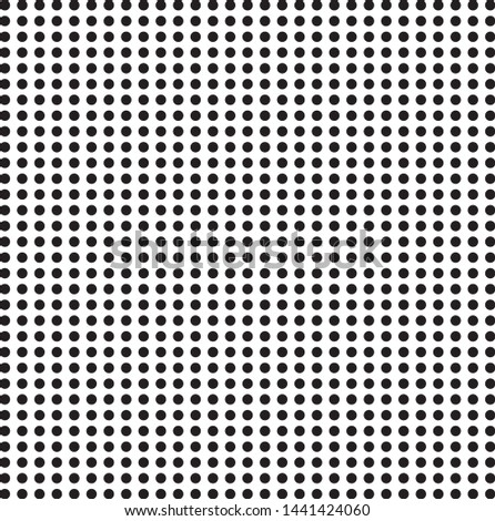Black dot pattern dot pattern, Seamless monochrome polka dot pattern. Dotted background