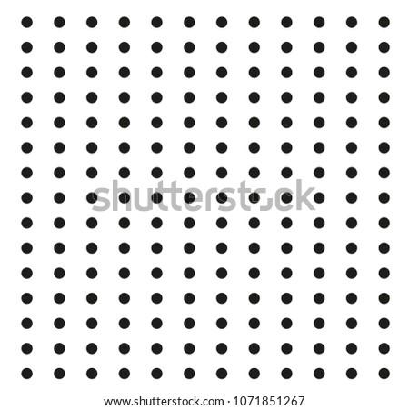 black dot seamless pattern
