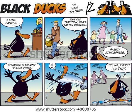 black ducks comic strip episode