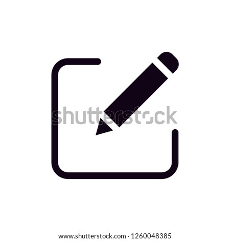 black edit vector #1260048385