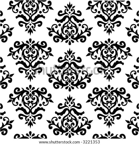 BLACK FLORAL PATTERN VOL. DIAMOND 01