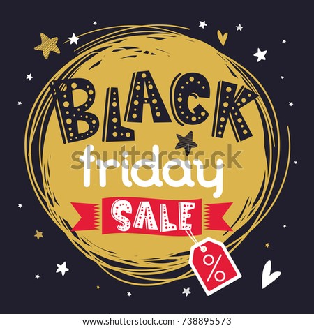 black friday banner or print