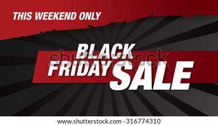 black friday banner sale