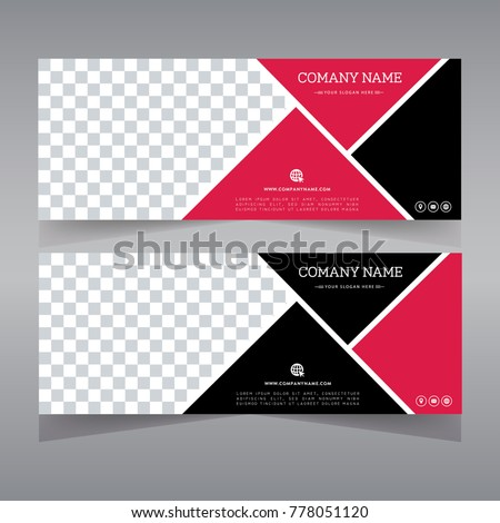 Black Friday banner template. Web banner set design. Abstract background. Red poster. black and red banner template. Gift card, sale voucher. Vector illustration