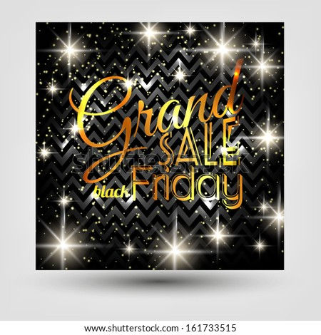 Black Friday Calligraphic Designs. Poster Sale.Typography.Vector illustration. Sale Tags for special offers and black Friday #161733515