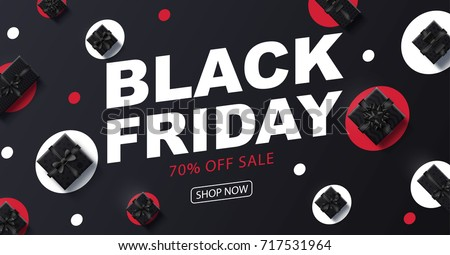 black Friday 2018 place for text christmas boxes top view design 2019 2020