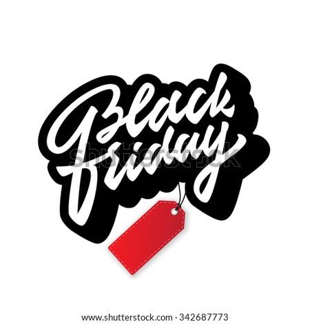 black friday promotional badge