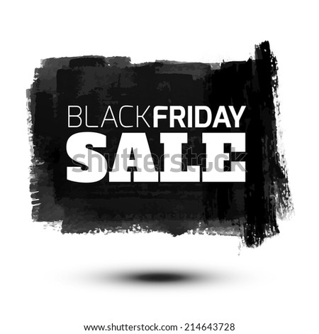 black friday sale abstract